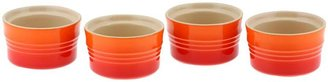 Le Creuset 4-pc. Round Stackable Ramekins, Flame