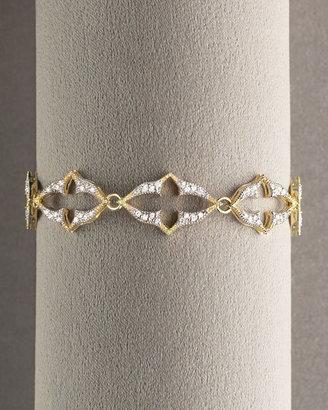 Jude Frances Diamond Cutout Cross Bracelet