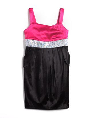 Roxette Tweens 7-16 Embellished Sleeveless Dress
