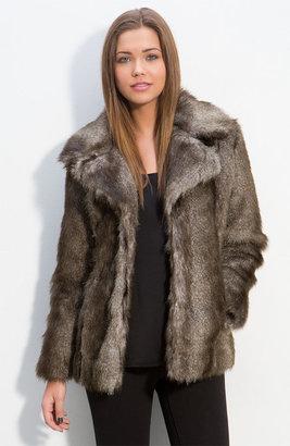 Thread & Supply Faux Fur Jacket (Juniors)