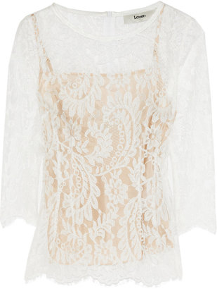 Lover Serpent lace top