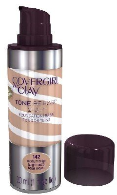 Cover Girl & Olay Tone Rehab 2-In-1 Foundation - Medium Beige 142