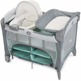 Graco Pack 'n Play Playard with Newborn Napper DLX $179.99 thestylecure.com
