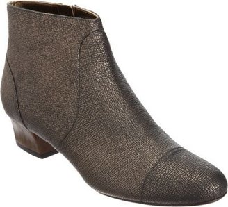 Lanvin Textured Side Zip Ankle Boot