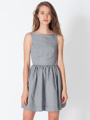 American Apparel Houndstooth Sun Dress