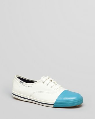 Kate Spade Keds® for Cap Toe Lace Up Sneakers - Take the Road Less Traveled