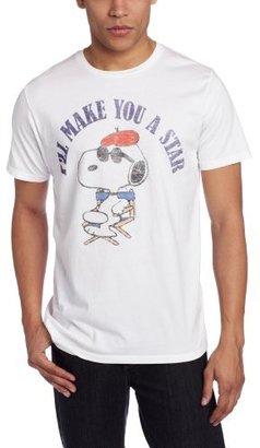 Junk Food CLOTHING Men's Snoopy I'll Make You A Star T-Shirt