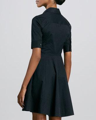 DKNY Half-Sleeve Shirt Dress