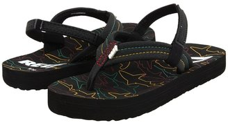 Reef Ahi (Infant/Toddler/Little Kid/Big Kid) (Rasta) - Footwear