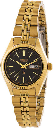 American Apparel Citizen Black/Gold Ladies' Metal Band Watch