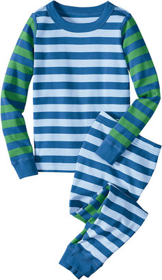 Hanna Andersson 'Mix it Up' Two Piece Fitted Pajamas (Little Boys)