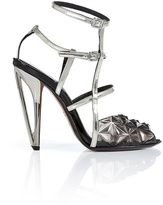 Fendi Irida Diamond Sandals
