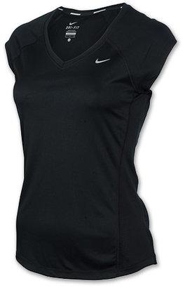 Nike Women's Miler V-Neck Shirt