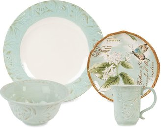 Fitz & Floyd Toulouse Dinnerware Collection in Green