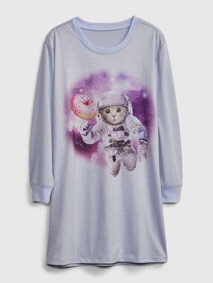 Gap Kids Cat PJ Dress