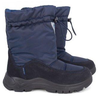 Naturino Navy toggle snow boots