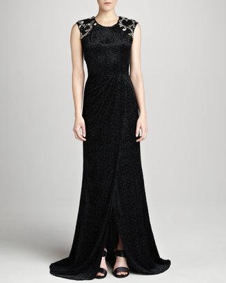 Jason Wu Sleeveless Embellished Gown