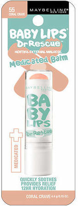 Maybelline Baby Lips Dr. Rescue Medicated Balm Coral Crave