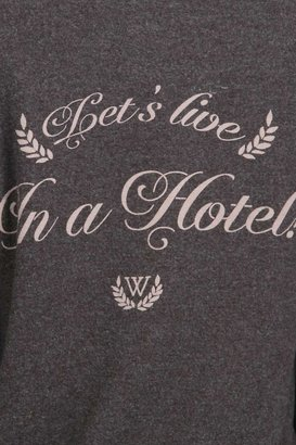 Wildfox Couture Live In Hotel Zip Up in NYC