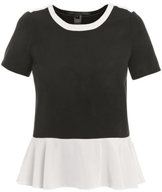 Marc by Marc Jacobs Avery colour-block peplum top