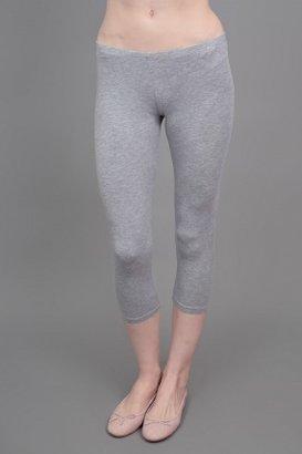 Splendid Cropped Leggings Heather Grey
