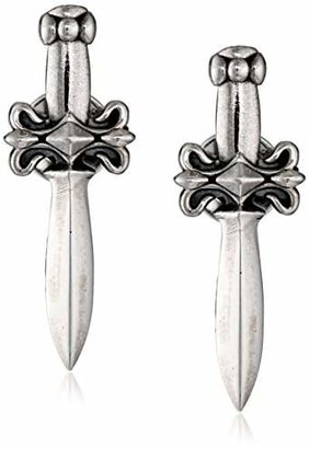 King Baby Dagger Post Earrings $145 thestylecure.com
