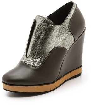Nanette Lepore Two Timer Wedge Booties