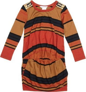 Little Marc Striped Long Sleeve Dress