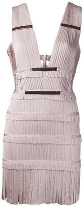 Herve Leger stretch knit dress