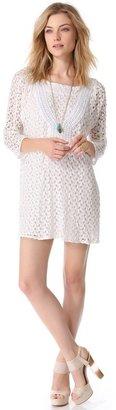 T-Bags Tbags los angeles Crochet Mini Dress