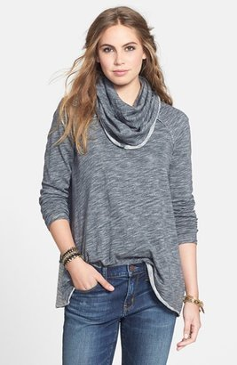 Women's Free People 'Beach Cocoon' Cowl Neck Pullover $51 thestylecure.com