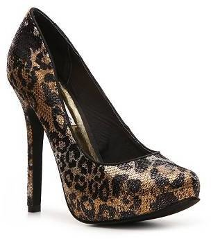 Naughty Monkey Glistening Platform Pump