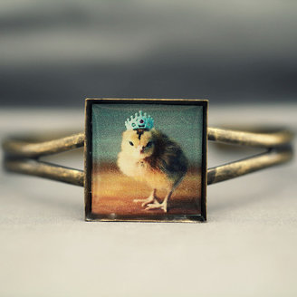 Chicks in Hats Chick In A Crown Bracelet
