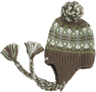 Kootenay Knitting Company Gjorvic Pom Beanie Hat - Ear Flap (For Men and Women)