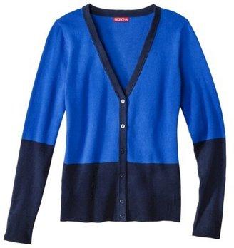 Merona Women's Ultimate V-Neck Cardigan Sweater - Assorted Prints
