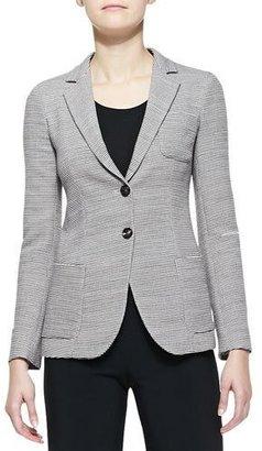 Armani Collezioni Wool Two-Button Blazer $1,395 thestylecure.com
