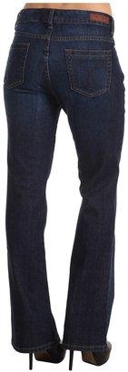 Calvin Klein Jeans Petite - Petite Dark Ink Ultimate Boot Jean (Dark Ink) - Apparel