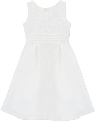 Jayne Copeland Girls' Rosette Communion Dress