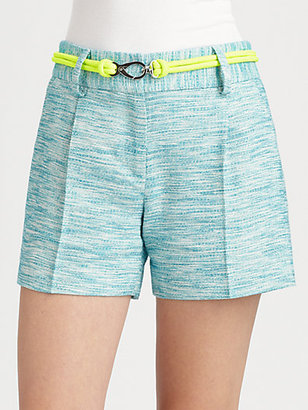 Milly Kerry Tweed Shorts