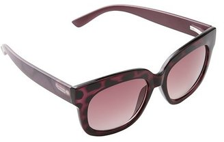 LOFT Exotic Print Classic Sunglasses