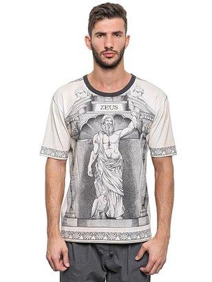 Dolce & Gabbana Zeus Printed Cotton Jersey T-Shirt