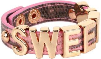BCBGeneration Sweet Affirmation Bracelet (Coral/Rose Gold) - Jewelry