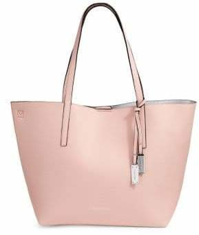 Calvin Klein Unlined Faux-Leather Tote