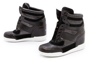 Marc by Marc Jacobs Metallic Low Wedge Sneakers