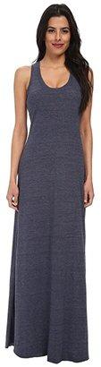 Alternative Racerback Maxi Dress (Eco Grey) Women's Dress
