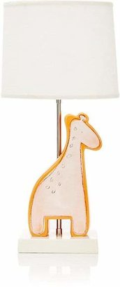 Alex Marshall Studios Giraffe Figure Lamp - Orange