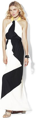 Vince Camuto Colorblock Maxi Dress