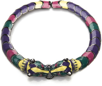 Fallon Paulina Enamel Necklace