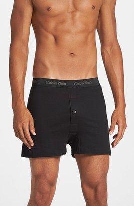 Men's Calvin Klein 3-Pack Cotton Boxers $39.50 thestylecure.com