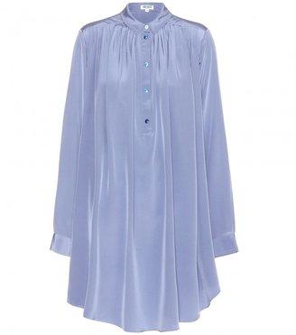 Kenzo Silk shirt dress